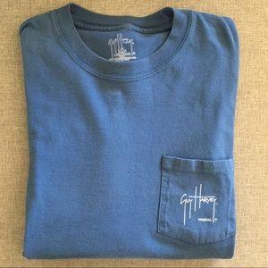 GUY HARVEY Long Sleeve Fishing T-shirt Size L